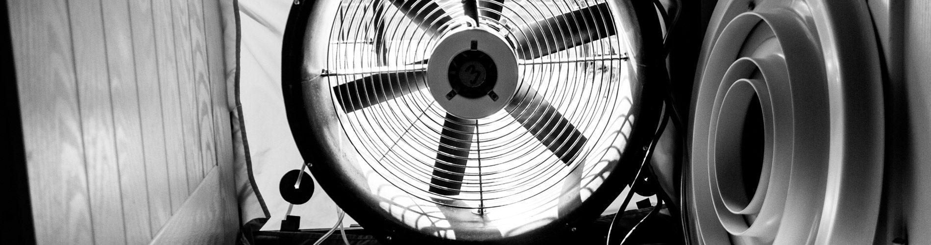 Ventilation testing header