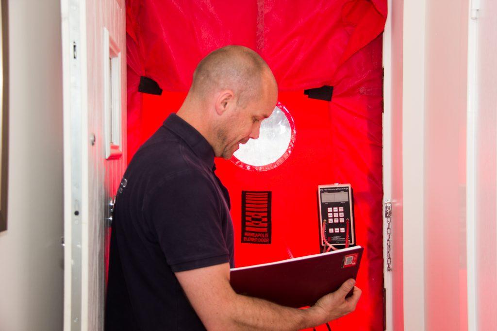 Air tightness testing Sussex
